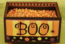 Fall and Halloween / Needlepoint for  fall and Halloween