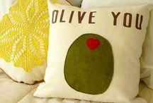 Cute pillows / by Sally C