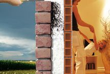 Fújható szigetelés / Implementation of blowing insulation. A fújható szigetelés kivitelezése