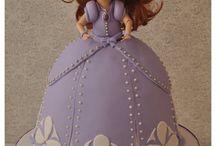 Princess Sofia Cakes/Party Ideas