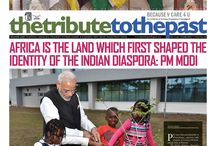 THE TRIBUTE TO THE PAST / INDIA'S FIRST PICTORIAL WEEKLY NEWSPAPER PUBLISHED IN BILINGUAL LANGUAGE FROM CHANDIGARH, INDIA