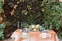 Tables / Pretty and beautiful tables. Inspiration for table centerpieces and decor.