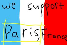 Kids Support Paris / News-O-Matic readers sent thousands of drawings and messages to support Paris and France after the terrorists attacks.