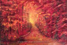 Fall Foliage / Original Art based on Fall Foliage