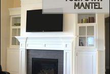 Super krb s televizi a stěnou