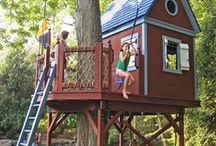 Casa en el árbol / Casas para vivir aventuras arbóreas <3