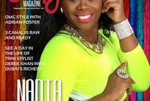 OMG Digital Magazine / Photography and pages from OMG Weekly Digital Magazine from Trinidad and Tobago