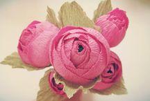 papírból virág