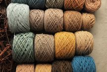 Natural wool and yarn dyeing