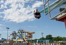 Waterpark (Indoor and Outdoor) / Indoor and Outdoor Waterparks located at King's Pointe Resort in Storm Lake, IA.   http://www.kingspointeresort.com/waterpark/