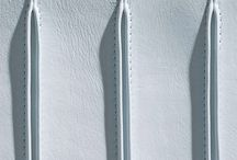 Leather details / Decorative details for handbags - straps, tabs, handles, pockets, braiding, plaits, weaving.