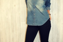 denim shirt outfits