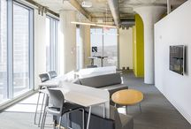 LOUNGE Spaces / 84.51º Space: Lounge spaces, office space, small group, open design #sofa #workspace #multifunctional
