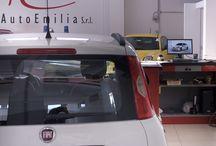 PhotoGallery / Autoemilia nasce nel 1968 come officina di riparazioni per auto private e a pochi mesi dall'apertura acquisisce il marchio Alfa Romeo attestandosi officina autorizzata.