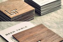 Business cards / Printed materials, marketing, and design