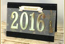 Karten neues Jahr