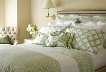 sleeping in a beautiful linen / bedroom linen decor