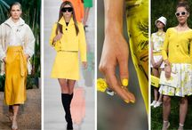Freesia Yellow / Yellow is in for Spring 2014, so get ready - it's BRIGHT!!!
