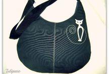 Tulipanobag/Szövet táskák