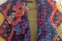 Crochet Sue Pinner inspired