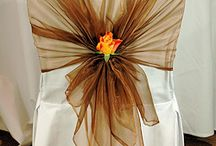 Chair Cover and Sash Ideas