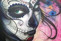 Dia De Los Muertos / by Monica Cantu
