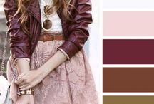 цветовые сочетанния