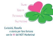 Marketing NOT Marketing / Ecco la copertina con il quadrifoglio del Cuore che ti porterà fortuna, dal libro scritto da Patrizia Pastore (www.notmarketingnot.com)