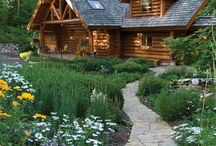 Log cabin / Love the country