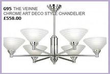 Art Deco style lighting