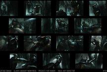 Thumbnails / Composition / Color Comps / ColorScripts / Scenes