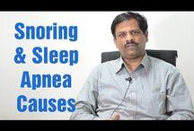 What causes Snoring and Sleep Apnea