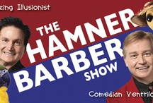 Hamner Barber Variety Show / Incredible Magical Illusions of The Hamners and Hilarious Vocal Comedy of Ventriloquist Jim Barber.  Magic, Comedy, Music and Dance in Branson, Missouri. HamnerBarber.com / by Jim Barber