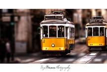 eléctricos / Eléctricos em Lisboa