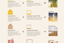 Infographic / Thoughtful ways of organizing heavy information with light imagery. / by Trista Woods