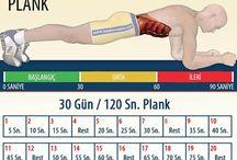 plank hareketi