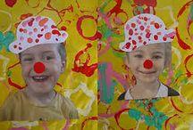 Fasching Kunst Grundschule