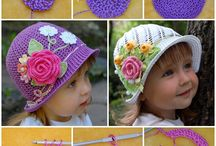 CROCHET -KNIT HATS