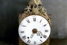 Comtoise grandfather clocks
