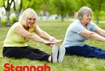 Elderly Health & Wellness / What elders should do to be healthy and live an active lifestyle.
