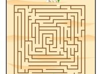 Bible Maze Activities / Children love to do mazes and these will help children review important Bible stories they've learned. Talk to kids about the related Bible story as they enjoy working these mazes!