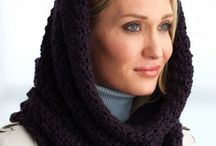 Crochet - Cowls & Scarves & Hats / Patterns and links to crocheted scarves and hats / by Monika Farmer