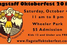Flagstaff Oktoberfest 2014 / Join us October 4th in Wheeler Park from 11 am to 8 pm.   www.flagstaffoktoberfest.com  / by Peak Events