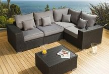 Outdoor Sofas All Reduced / Massive range of outdoor rattan garden sofa sets. Fully fire retardant. All reduced and on sale. For immediate delivery