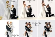 wedding cake topper `