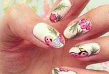 Amazon cruise  holiday nails ideas / Exotic nail ideas