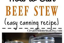 Canning: Beef