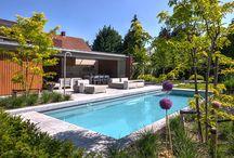 Swimming pool - Buiten zwembad / Outdoor swimming pool by VSB Wellness - buiten zwembad