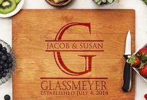 Personalized Cherry Cutting Boards