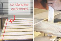 How to cut a pallet for boards